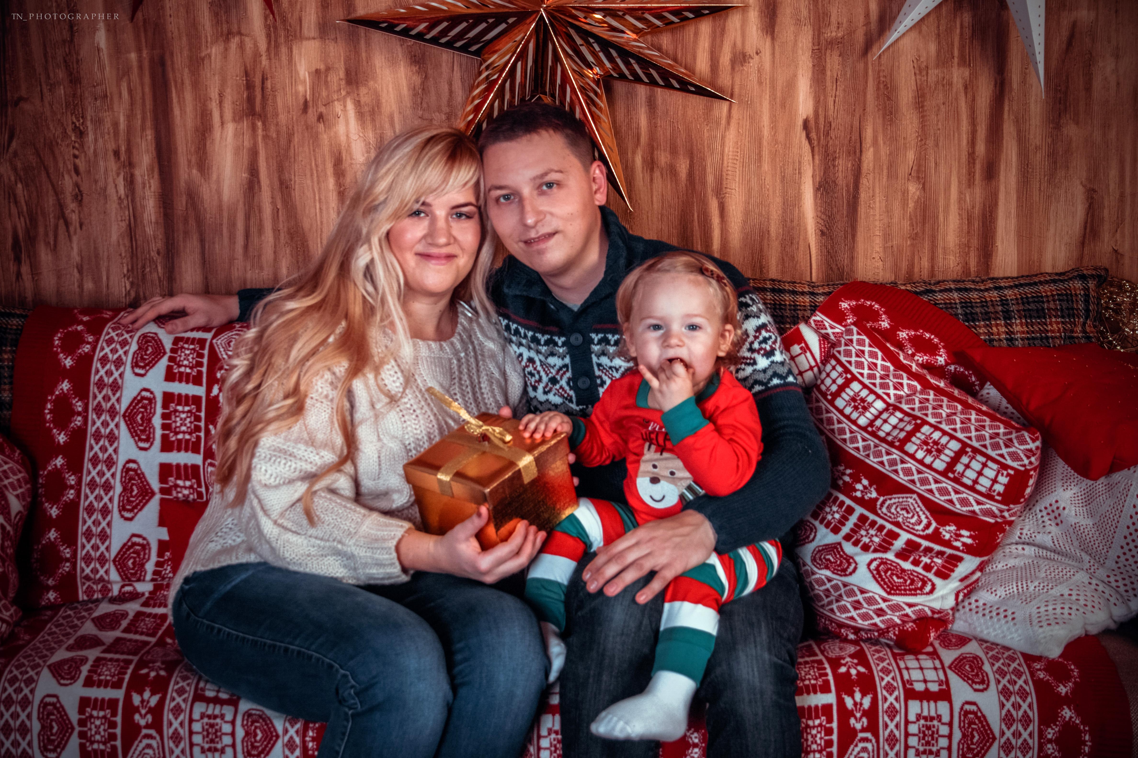 Новогоднее семейное настроение