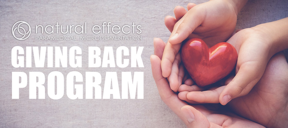 Natura Effects Giving Back Charity and Donations Program