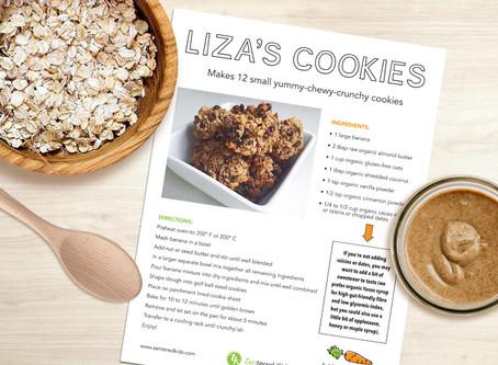 Cookies! Liza's Real Food Recipe