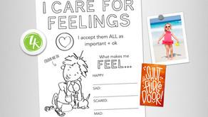 Happy Kids Care For Feelings