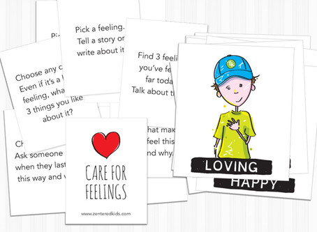 Play With Feeling Prompt Cards