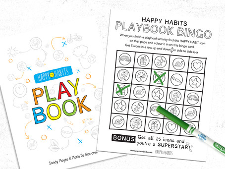 Play Happy Habits Bingo