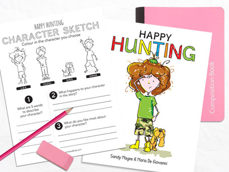A Happy Character Sketch For Kids