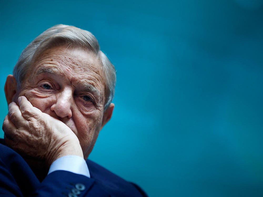 El magnate Geoges Soros