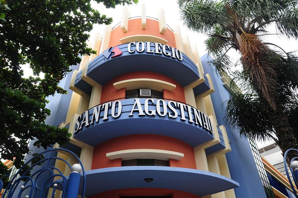 Fachada do Colégio Santo Agostinho em Belo Horizonte