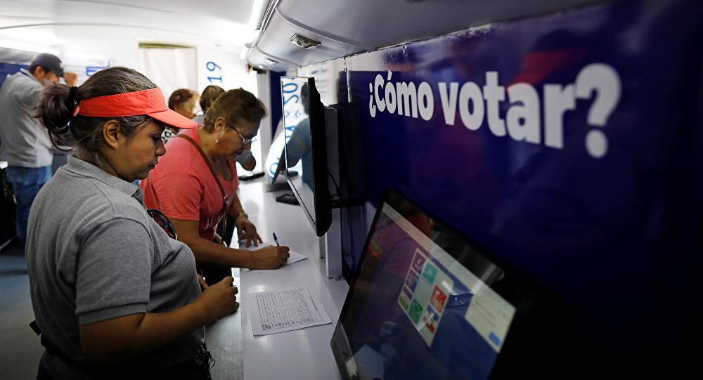 Votaciones en El Salvador
