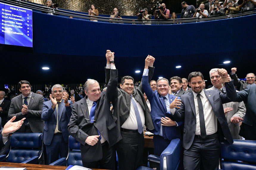 Davi Alcolumbre, novo presidente do Senado