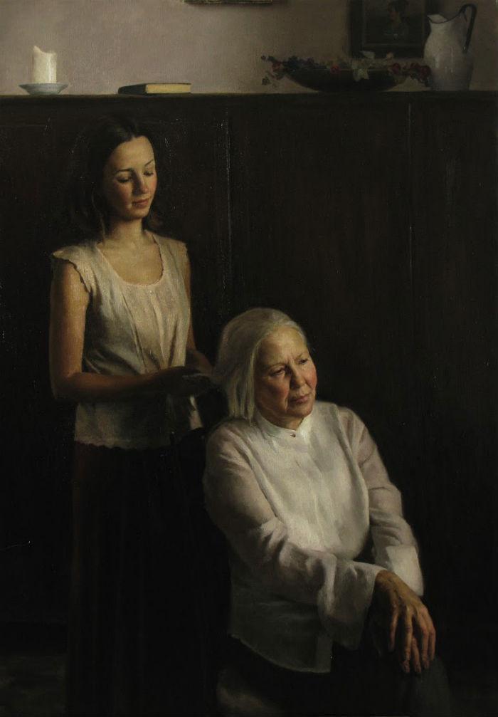 Momento matutino, Cornelia Hernes, 2009