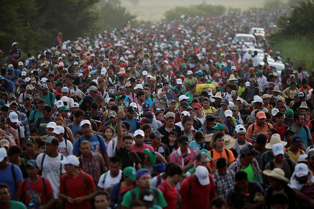Caravana de migrantes, 2018