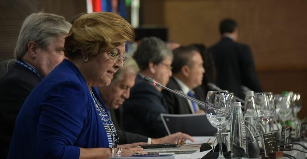 Esmeralda Arosemena, presidente de la CIDH