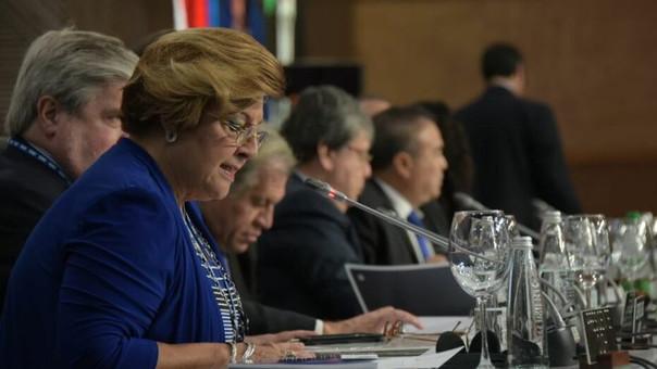 Arosemena, la enemiga de los 'conservadores', es reelecta como miembro de la CIDH