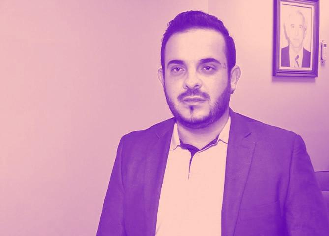 O vereador David Antônio Sanches, autor do projeto que pune manifestações contrarias à ideologia de gênero