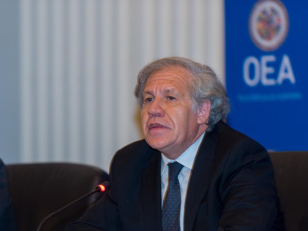 Almagro, reelegido secretario general de la OEA, 20 de marzo de 2020