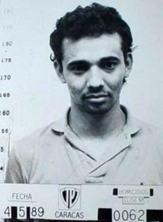 Moreno en los años 80, en su paso por la prisión