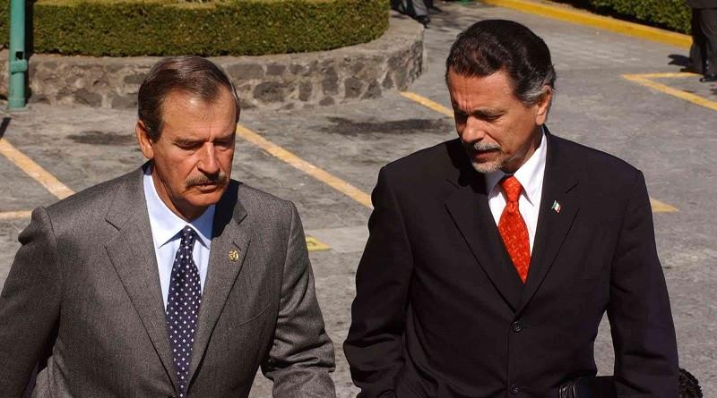 Abascal con el presidente Vicente Fox