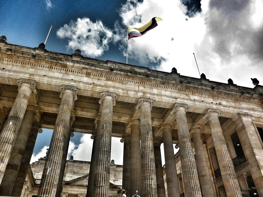 El Capitólio Nacional, en Bogotá, sede de la III Cumbre Trasatlántica