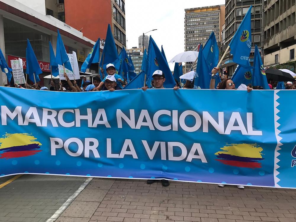 XIII Marcha Nacional por la Vida, Colombia, 05 mayo de 2019