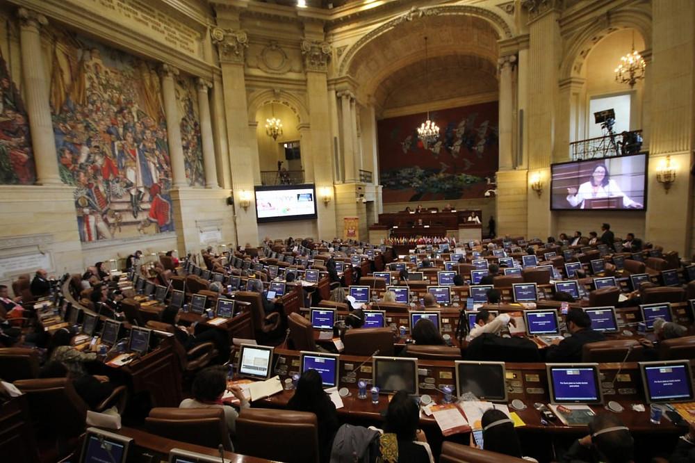 La III Cumbre Transatlántica en el Capitólio de la Nación Colombiana, en Bogotá
