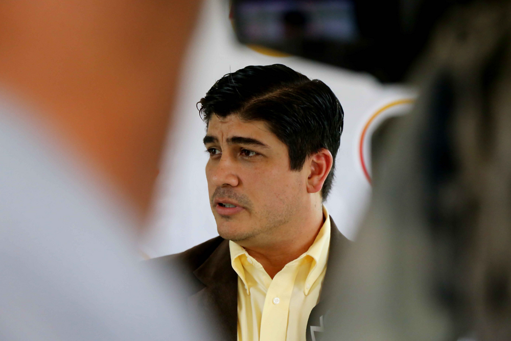 Carlos Alvarado, candidato del PAC a la presidencia de la República de Costa Rica
