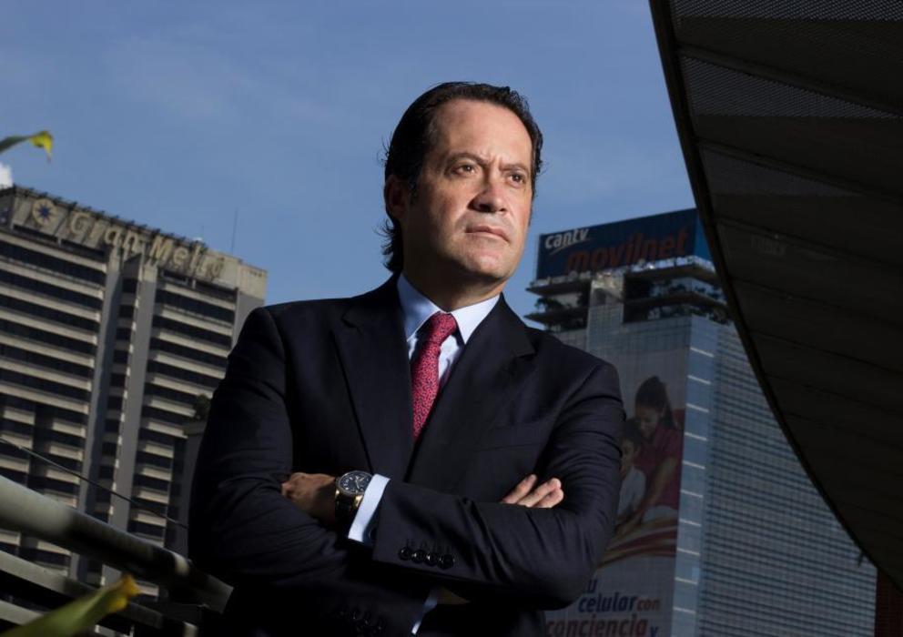 El empresario Juan Carlos Escotet, dueño de Banesco.