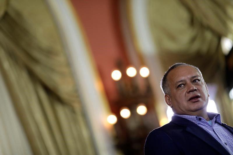 El diputado Diosdado Cabello, apuntado como uno de los jefes del Cártel de los Soles