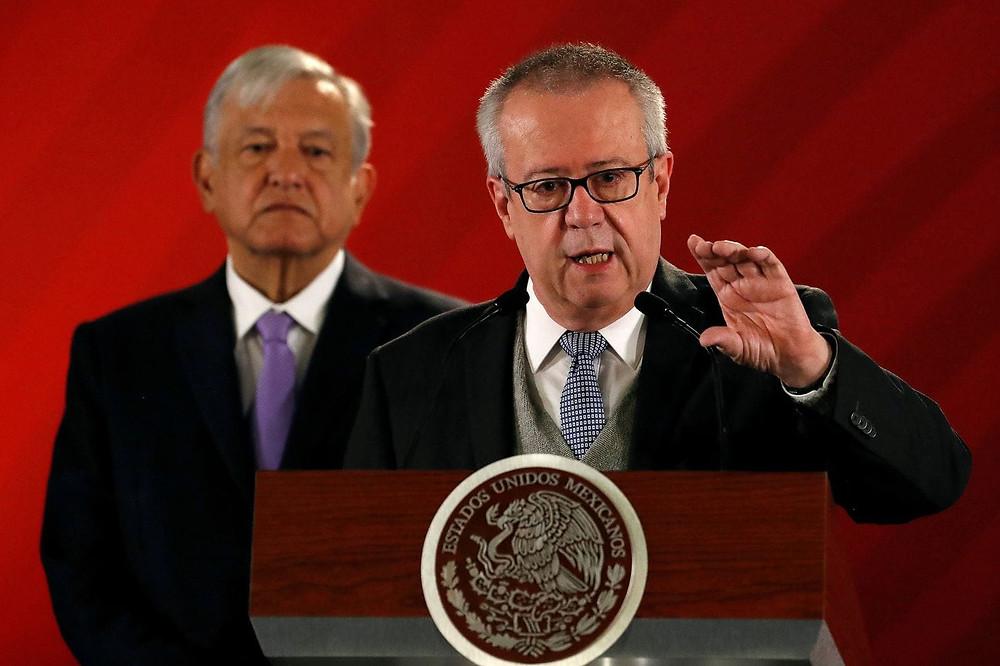 Calos Urzúa, exsecretario de Hacienda de López Obrador
