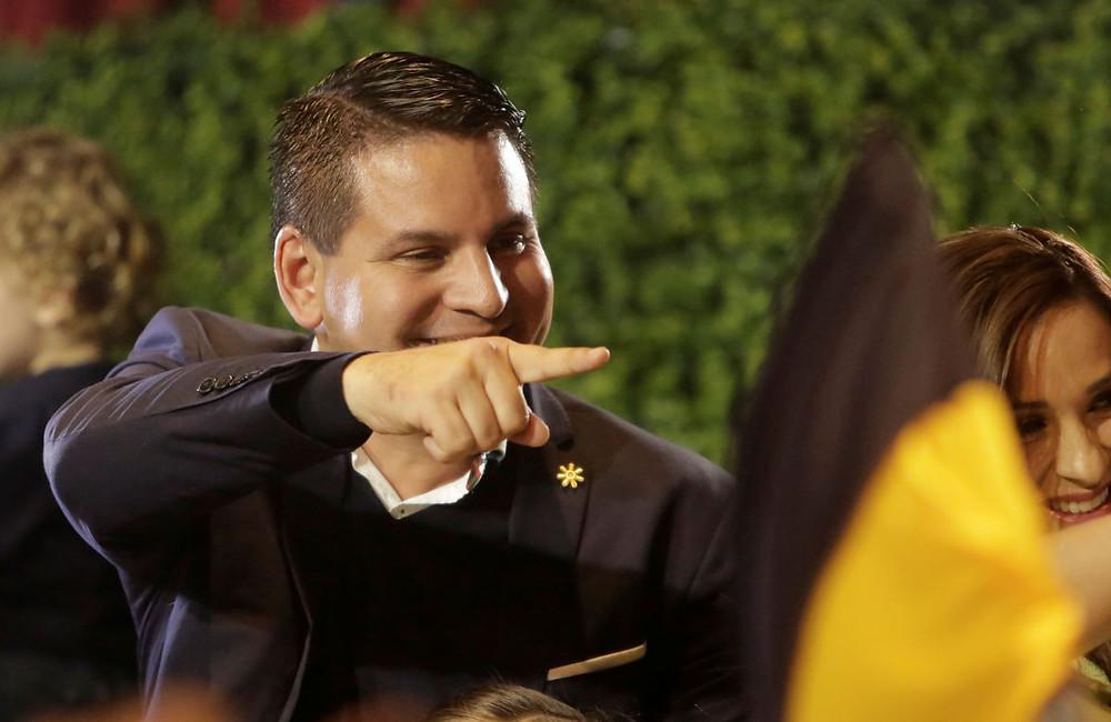Fabricio Alvarado candidato del PREN a la presidencia de Costa Rica
