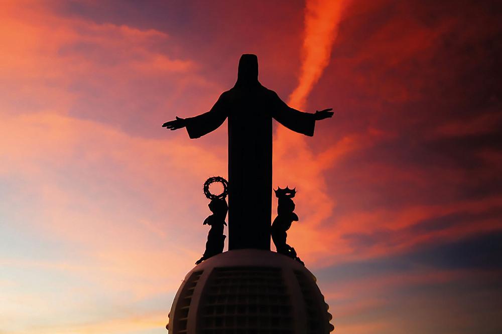 El Cristo Rey que impera en México desde El Cubilete
