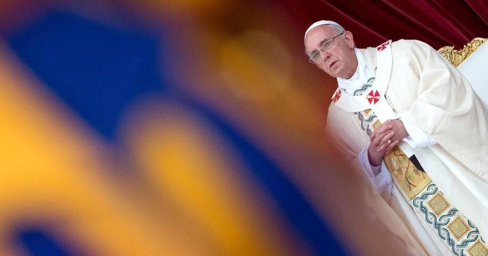 O Papa Francisco durante o Sínodo da Amazônia