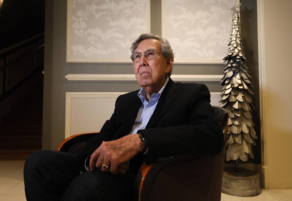Cuauhtémoc Cárdenas, el fundador del PRD, en entrevista con El País