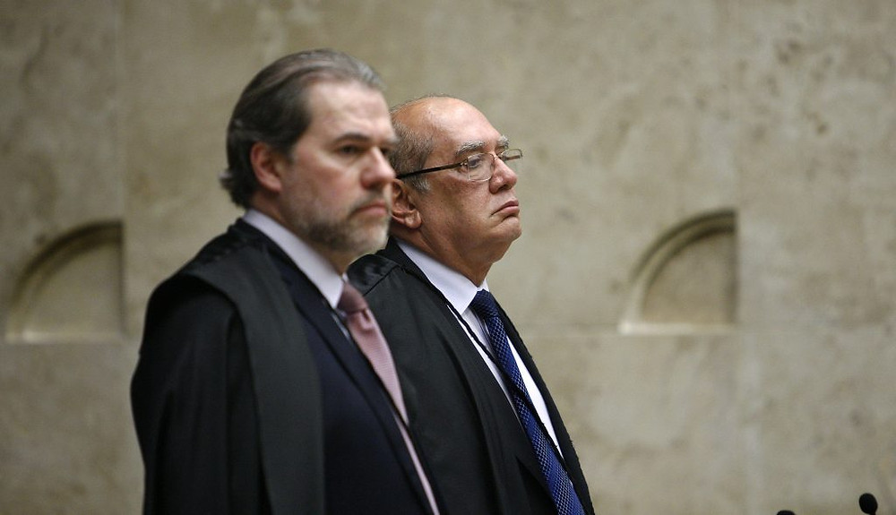 Toffili e Mendes, ministros do STF