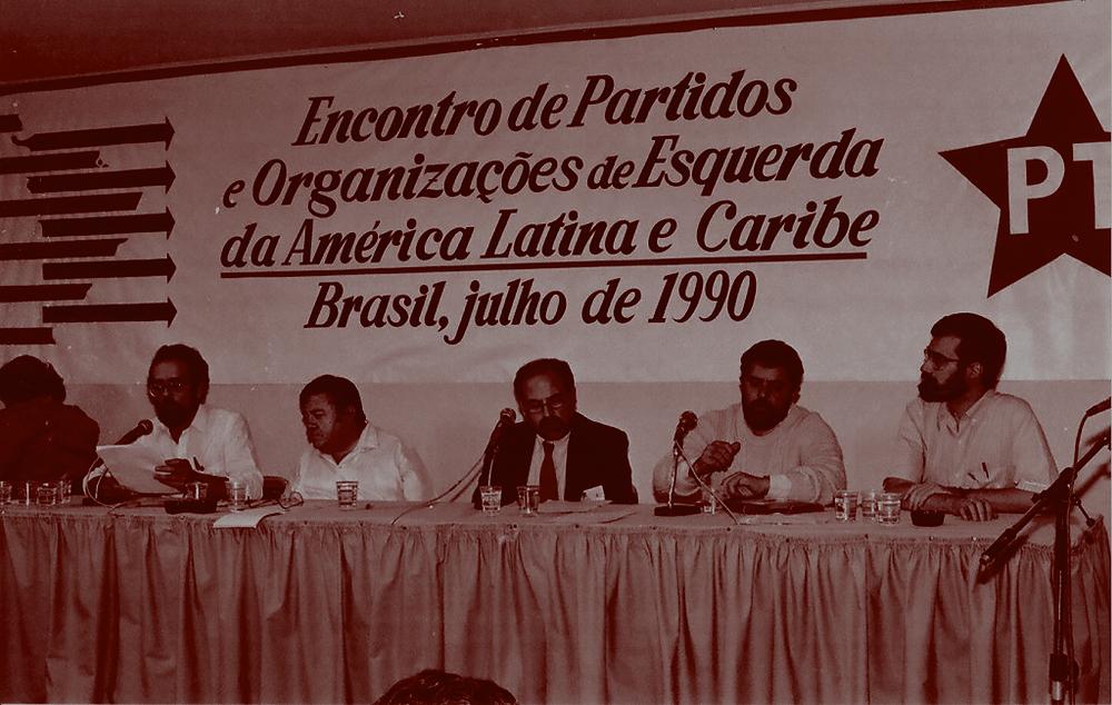 Primeira reunião do Foro de São Paulo, julho 1990