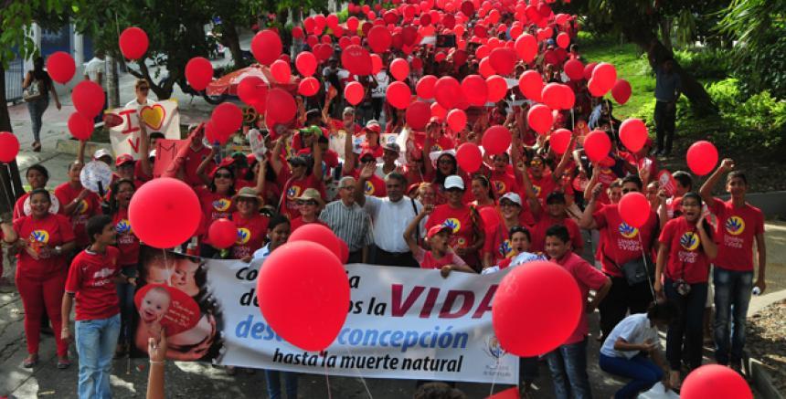 Marcha Unidos por la Vida, Colombia, 2016