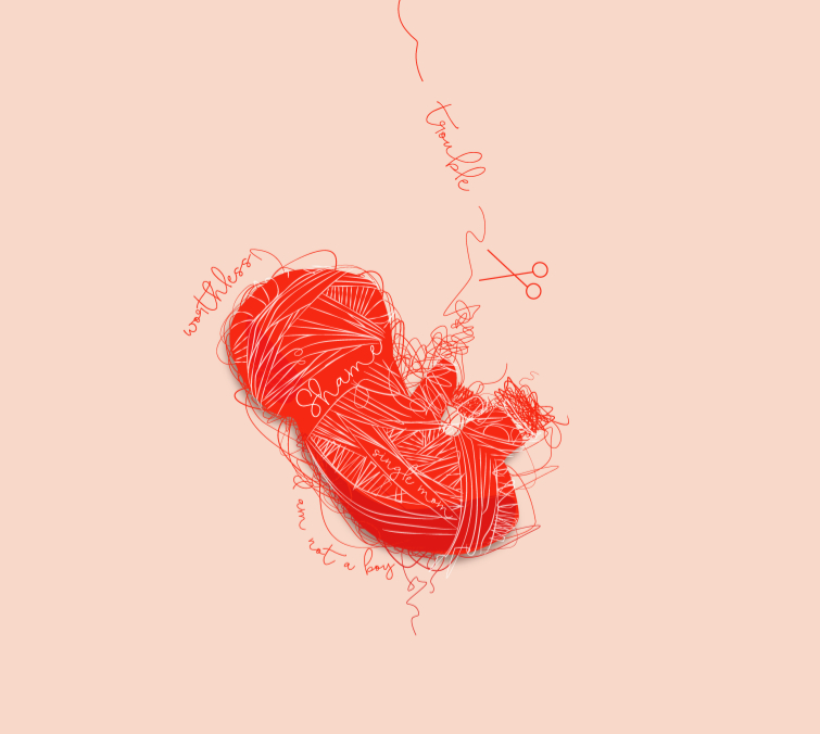 'Shame', do desenhador gráfico Quynh Nguyen, 2012