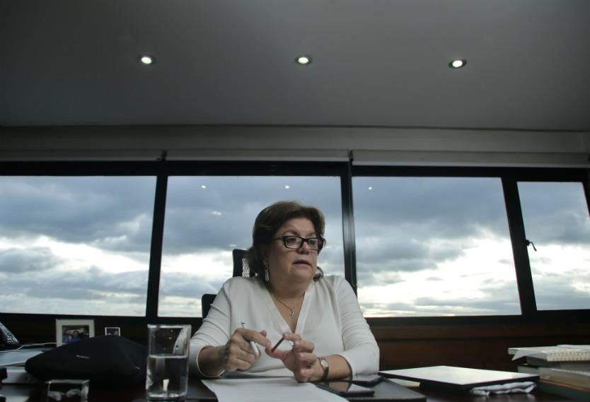 La ahora exministra de Justicia de Colombia, Gloria María Borrero