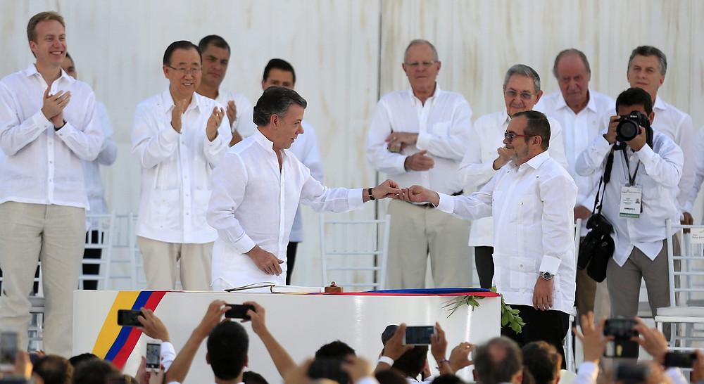 Los acuerdos de 'paz' en La Habana