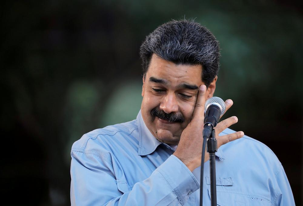 El dictador venzolano Nicolás Maduro