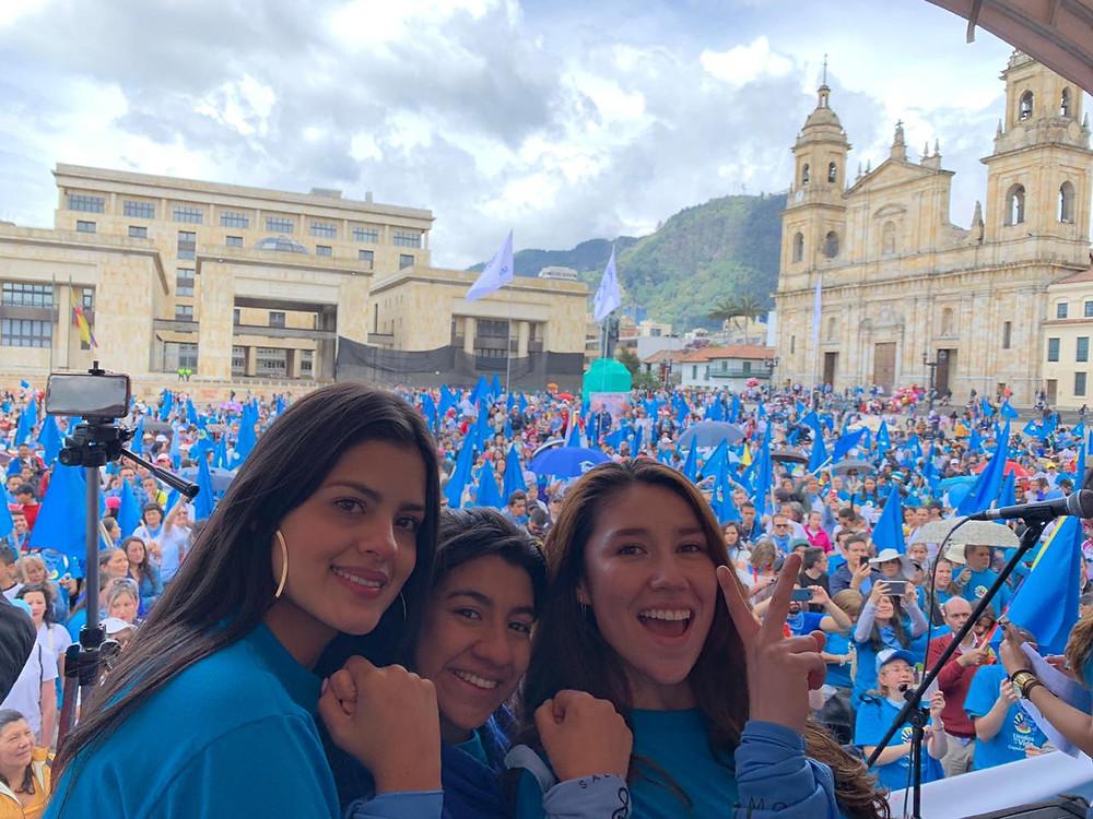 La XIII Marcha por la Vida, 05 de mayo, Bogotá,