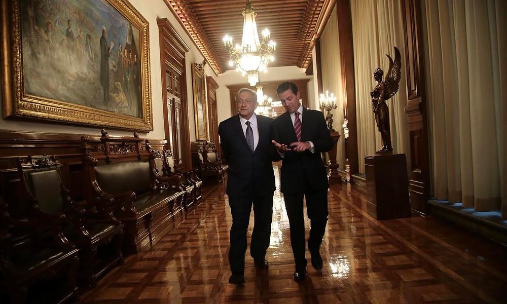 El presidente López Obrador y el expresidente Peña Nieto: un pacto