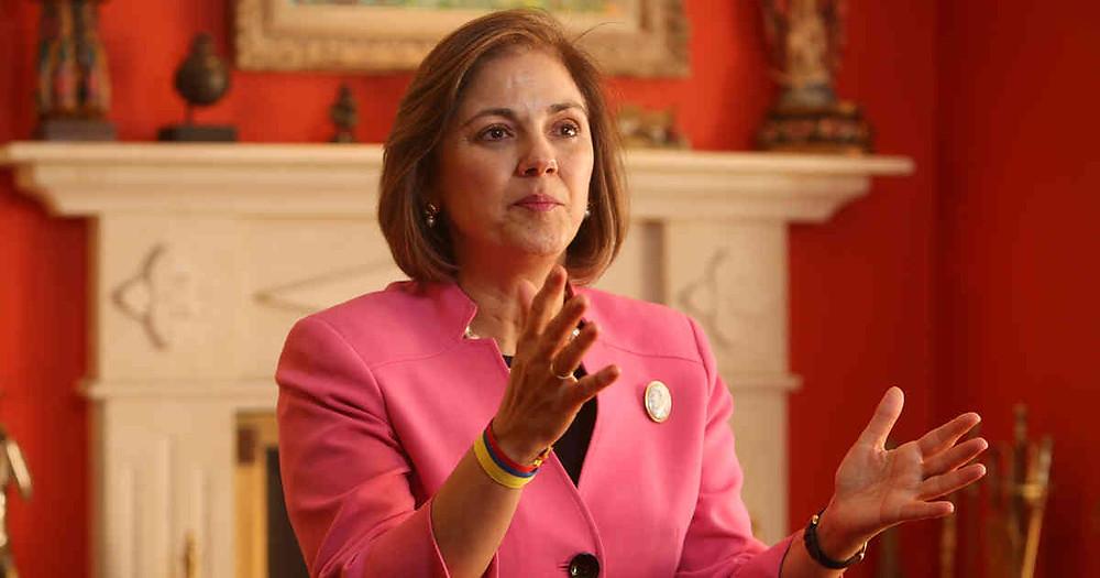 La senadora colombiana Maria Rosario Guerra, anfitriona de la III Cumbre Transatlántica de la Political Network for Values