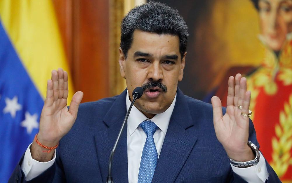 El dictador Venezolano Nicolás Maduro Moros
