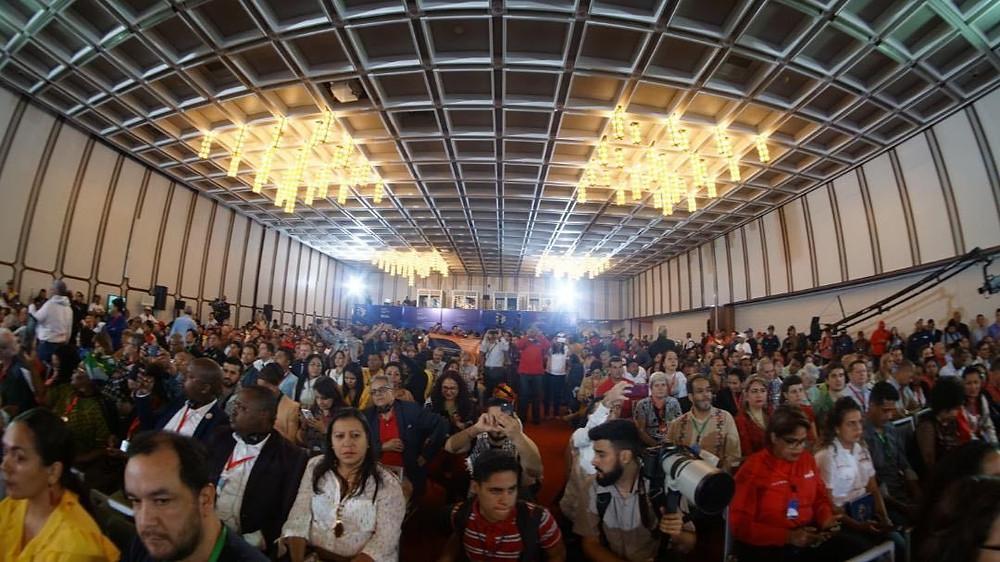 Segundo dia do FSP em Caracas, 2019