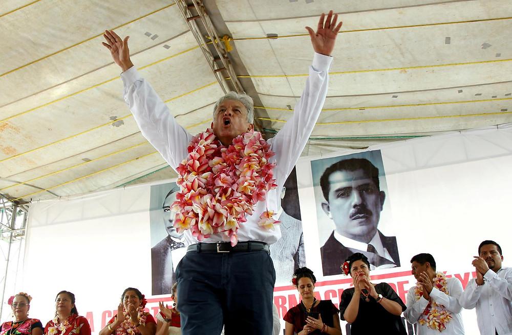 El presidente de México, Manuel Andrés López Obrador