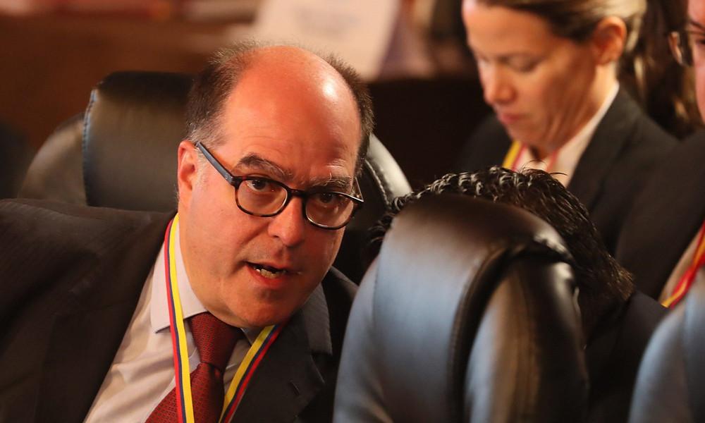 Julio Borges, representante de Guaidó en el Grupo de Lima