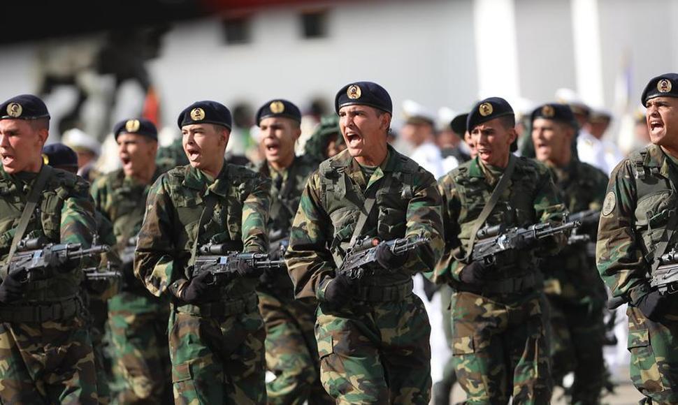 Miembros de las Fuerzas Armadas de Venezuela