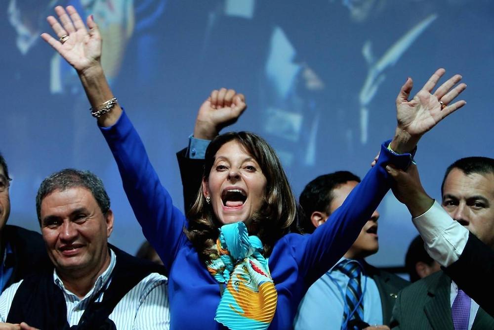 Marta Lucia Ramírez, vicepresidente de Colombia