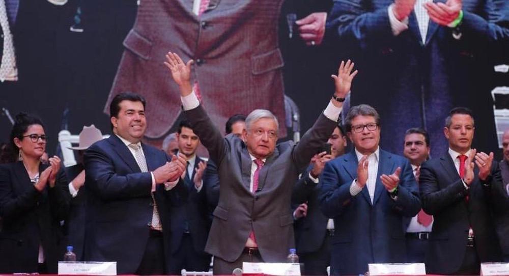 AMLO y Pedro Haces, nuevo aliado y fundador del partido satélite FSxM