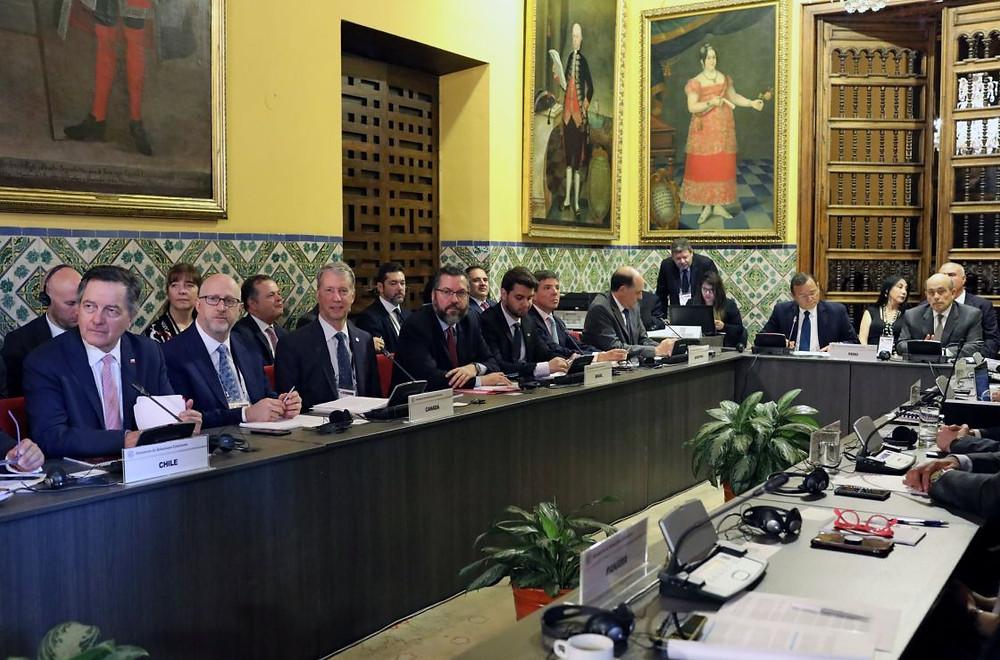 Reunión del Grupo de Lima, en la capital peruana, este 4 de enero