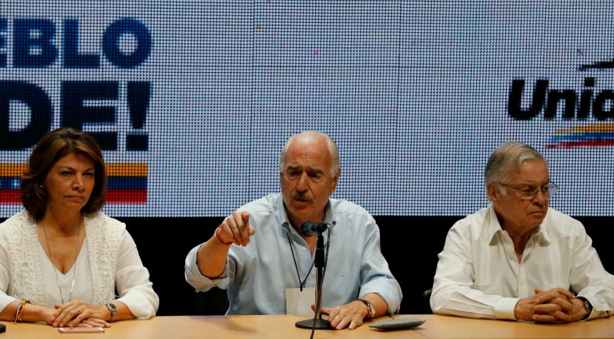 Chinchilla, Pastrana y Rodríguez, miembros de la IDEA