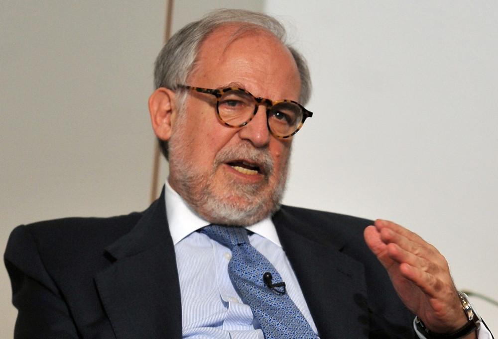 El sociologo brasileño Marco Aurelio Garcia, asesor de Lula